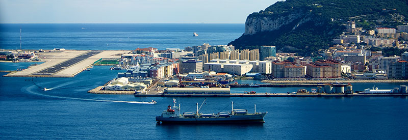 Gibraltar Dock and Airport